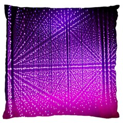 Pattern Light Color Structure Large Cushion Case (two Sides) by Simbadda
