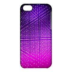 Pattern Light Color Structure Apple Iphone 5c Hardshell Case