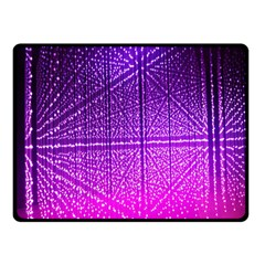 Pattern Light Color Structure Double Sided Fleece Blanket (small)  by Simbadda