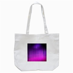 Pattern Light Color Structure Tote Bag (white) by Simbadda