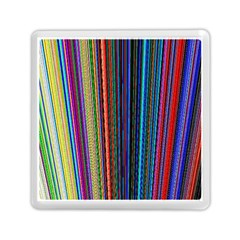 Multi Colored Lines Memory Card Reader (square)