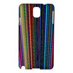 Multi Colored Lines Samsung Galaxy Note 3 N9005 Hardshell Case by Simbadda