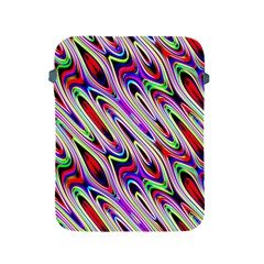 Multi Color Wave Abstract Pattern Apple Ipad 2/3/4 Protective Soft Cases