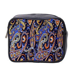 Pattern Color Design Texture Mini Toiletries Bag 2 Side by Simbadda