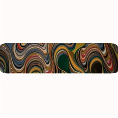 Swirl Colour Design Color Texture Large Bar Mats by Simbadda