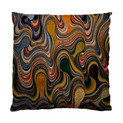 Swirl Colour Design Color Texture Standard Cushion Case (two Sides) by Simbadda