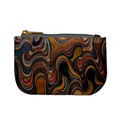 Swirl Colour Design Color Texture Mini Coin Purses by Simbadda