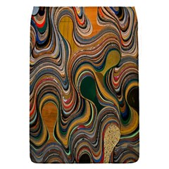 Swirl Colour Design Color Texture Flap Covers (s)  by Simbadda
