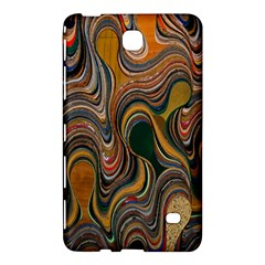 Swirl Colour Design Color Texture Samsung Galaxy Tab 4 (7 ) Hardshell Case  by Simbadda