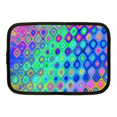 Background Texture Pattern Colorful Netbook Case (medium)  by Simbadda