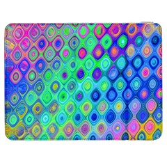 Background Texture Pattern Colorful Samsung Galaxy Tab 7  P1000 Flip Case by Simbadda