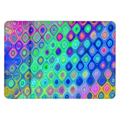 Background Texture Pattern Colorful Samsung Galaxy Tab 8 9  P7300 Flip Case by Simbadda