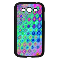 Background Texture Pattern Colorful Samsung Galaxy Grand Duos I9082 Case (black)