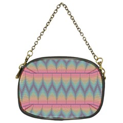 Pattern Background Texture Colorful Chain Purses (two Sides)  by Simbadda