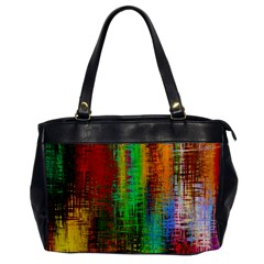 Color Abstract Background Textures Office Handbags by Simbadda