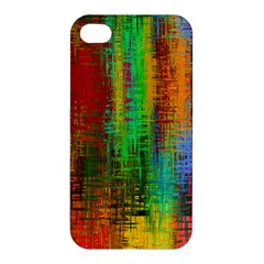 Color Abstract Background Textures Apple Iphone 4/4s Premium Hardshell Case by Simbadda