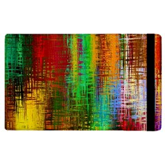Color Abstract Background Textures Apple Ipad 3/4 Flip Case
