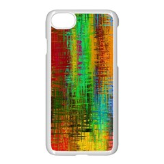 Color Abstract Background Textures Apple Iphone 7 Seamless Case (white)