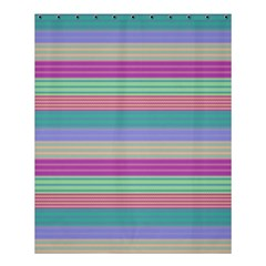 Backgrounds Pattern Lines Wall Shower Curtain 60  X 72  (medium)  by Simbadda