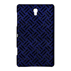 Woven2 Black Marble & Blue Leather (r) Samsung Galaxy Tab S (8 4 ) Hardshell Case  by trendistuff