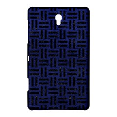 Woven1 Black Marble & Blue Leather (r) Samsung Galaxy Tab S (8 4 ) Hardshell Case  by trendistuff