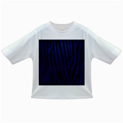 Skin4 Black Marble & Blue Leather (r) Infant/toddler T Shirt by trendistuff