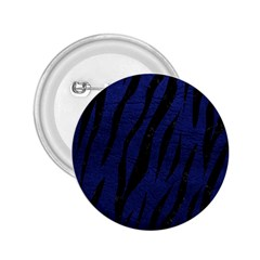 Skin3 Black Marble & Blue Leather (r) 2 25  Button by trendistuff
