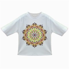 Intricate Flower Star Infant/toddler T Shirts by Alisyart