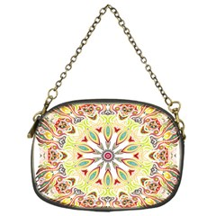 Intricate Flower Star Chain Purses (one Side)  by Alisyart