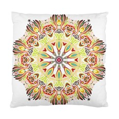 Intricate Flower Star Standard Cushion Case (two Sides)