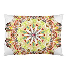 Intricate Flower Star Pillow Case by Alisyart