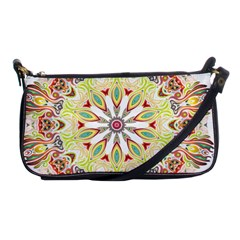 Intricate Flower Star Shoulder Clutch Bags by Alisyart