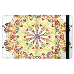 Intricate Flower Star Apple Ipad 3/4 Flip Case by Alisyart