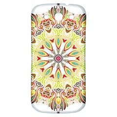 Intricate Flower Star Samsung Galaxy S3 S Iii Classic Hardshell Back Case