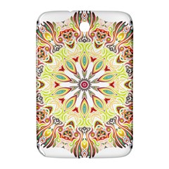 Intricate Flower Star Samsung Galaxy Note 8 0 N5100 Hardshell Case  by Alisyart