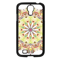 Intricate Flower Star Samsung Galaxy S4 I9500/ I9505 Case (black) by Alisyart