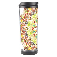 Intricate Flower Star Travel Tumbler by Alisyart