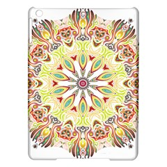 Intricate Flower Star Ipad Air Hardshell Cases by Alisyart