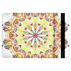 Intricate Flower Star Ipad Air Flip by Alisyart