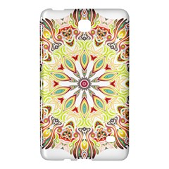 Intricate Flower Star Samsung Galaxy Tab 4 (8 ) Hardshell Case  by Alisyart
