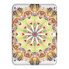 Intricate Flower Star Samsung Galaxy Tab 4 (10 1 ) Hardshell Case  by Alisyart