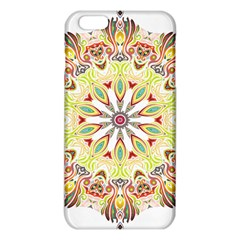Intricate Flower Star Iphone 6 Plus/6s Plus Tpu Case by Alisyart