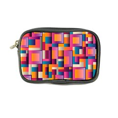 Abstract Background Geometry Blocks Coin Purse by Simbadda