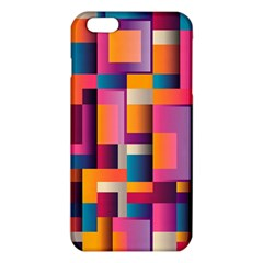 Abstract Background Geometry Blocks Iphone 6 Plus/6s Plus Tpu Case by Simbadda