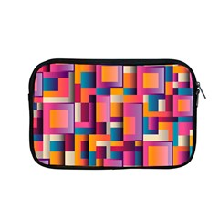 Abstract Background Geometry Blocks Apple Macbook Pro 13  Zipper Case by Simbadda