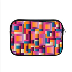Abstract Background Geometry Blocks Apple Macbook Pro 15  Zipper Case by Simbadda
