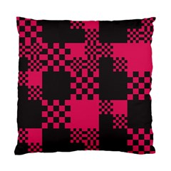Cube Square Block Shape Creative Standard Cushion Case (one Side) by Simbadda