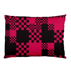 Cube Square Block Shape Creative Pillow Case (two Sides) by Simbadda