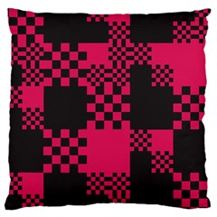 Cube Square Block Shape Creative Large Cushion Case (two Sides)