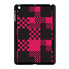 Cube Square Block Shape Creative Apple Ipad Mini Case (black) by Simbadda